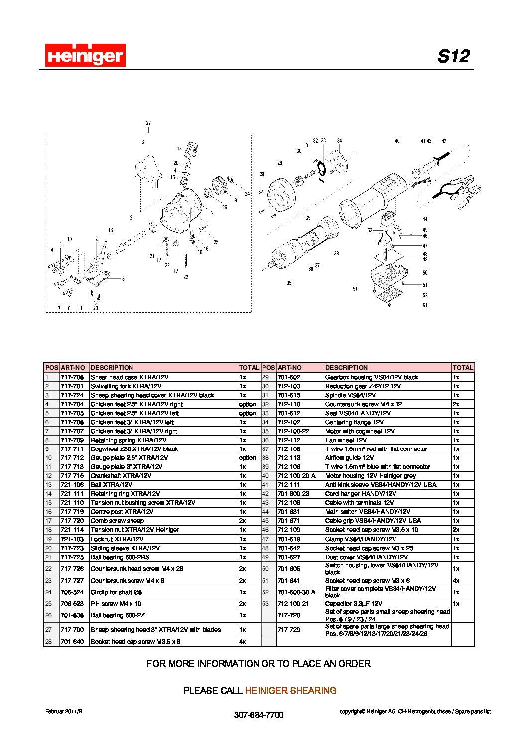 S12 Parts